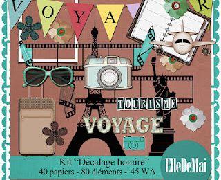 Un kit pour les photos de voyage