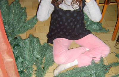 Le sapin.... commencement.