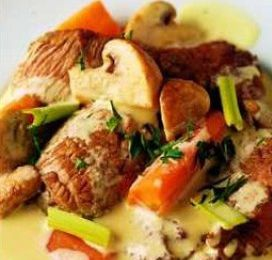 Blanquette de veau (French veal dish)