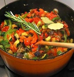 Ratatouille (French vegetables stew)