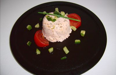 Terrines de saumon...
