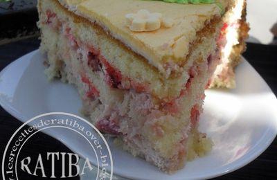 la recette du gâteau d'anniversaire