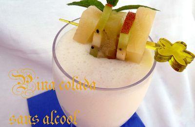 Pina colada sans alcool, Cocktail rafraîchissant pour ramadan