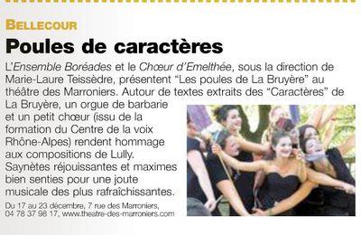 Presse - Lyon Citoyen décembre 2009