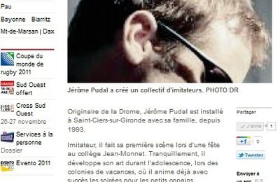 Article Sud Ouest (3 oct 2011)