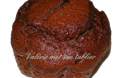 muffins chocolat ultra moelleux