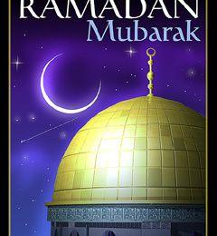 Ramadan moubarak mes freres et soeurs
