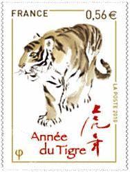 Un Nouvel An Chinois Tigré!