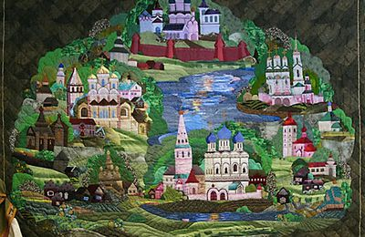 Salon patchwork en Russie