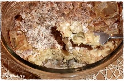 Crumble Poulet Fromage