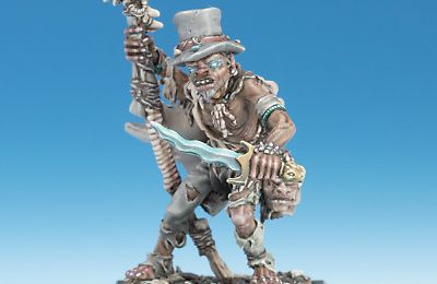 Freebooter Miniatures: Papa Houngan & Virgo Despiedad