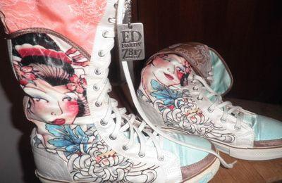 Ma maladie : les chaussures...2