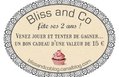 petit jeu ... chez Bliss and co