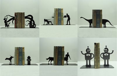 # Bonus du vendredi : l'art des serre-livres !