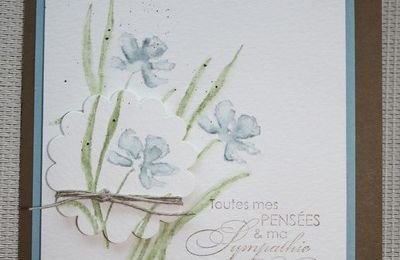 "Carte ""Aquarelle"""