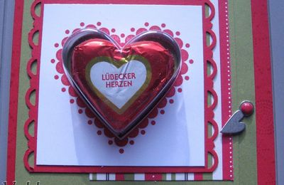 Carte coupelle coeur