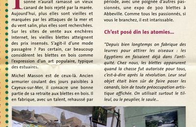 "Article ""Picardie Chasse"" janvier 2008"