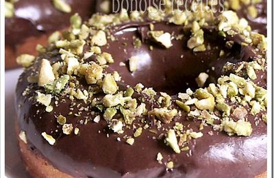 donuts glacage chocolat