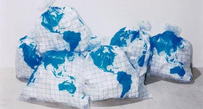 Les Earth Garbage Bag