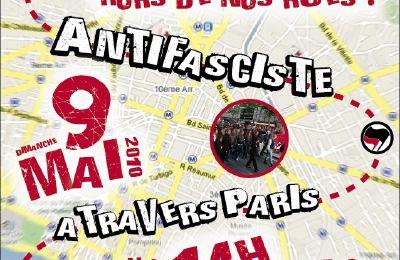 Le 9 mai : Marche antifasciste!