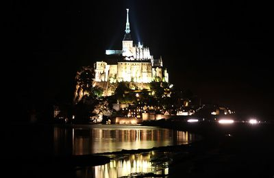Le Mont-Saint-Michel (50) Manche - Nocturne