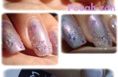 Nail Art avec le LM Cosmetic 3D Purple