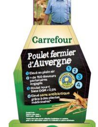Poulet Label Rouge garantit sans antibiotiques