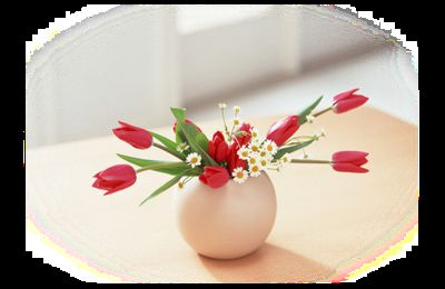 Bouquets fleuries rouges png