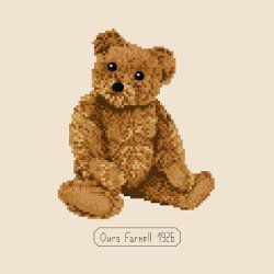 Nelson, l'ours Farnell de 1926 - Nelson, the Farnell's collection teddy bear of 1926