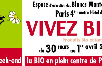 Vivez bio : salon bio à Paris