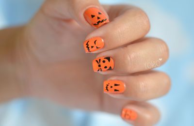 Nail art - Halloween 2 (Kit Lm Cosmetic)