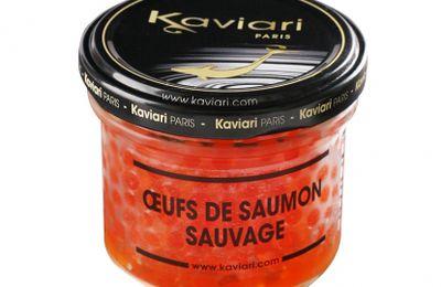 Kaviari : les oeufs de saumon sauvage