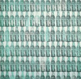 Anglais, les langages : Green Coca Bottles, Andy Warhol, 1962