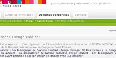 Conférence Design médical