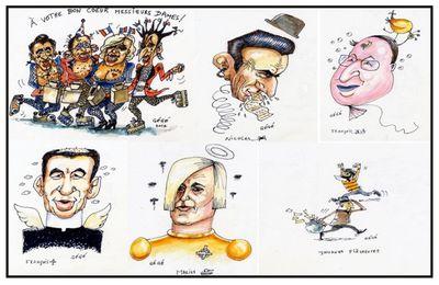 Les Présidentielles 2012 vues par Gégé