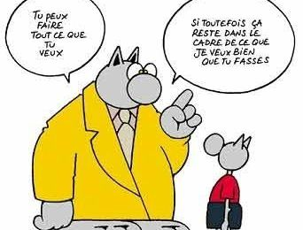 L'éducation vu par le Chat de Geluck