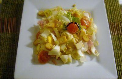 Salade d'endive à moi !!!