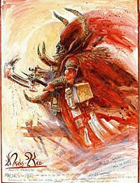Codex Primarques - Magnus le Rouge