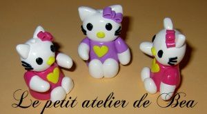 Tuto Fimo hello Kitty 3D - Tutoriel en images
