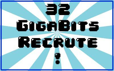 32 Gigabits Recrute