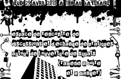 Speed squating le 29 avril!