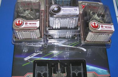 Arrivage Star Wars X-Wing Octobre