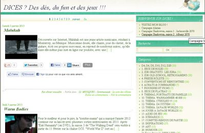Dices everywhere: Miam miam le bon blog