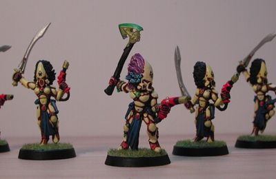 40K and Co: Banshees Eldars