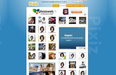 pixiz....un site de montage photos