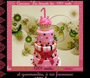 Concours Les desserts des 1000 et une nuit .