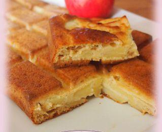 Gateau léger aux pommes pour les régimeuses