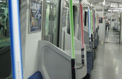 Lightsaber subway