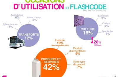 Statistiques Flashcode et applications mobiles en France