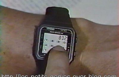 Casio TC-50, la montre de Richie Adler